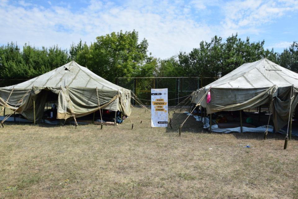 Волонтери БУР приїхали на Донеччину будувати Україну - Фото №5