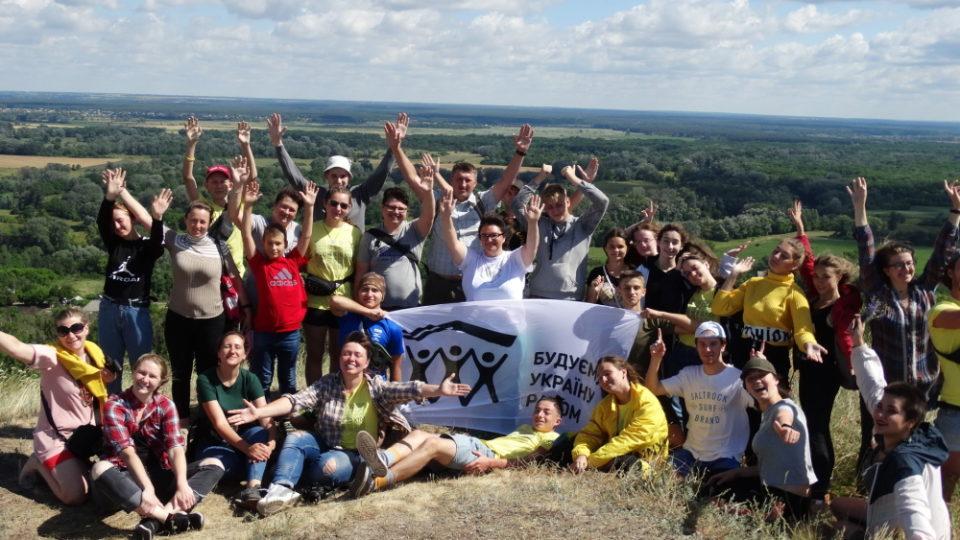 Волонтери БУР приїхали на Донеччину будувати Україну - Фото №7