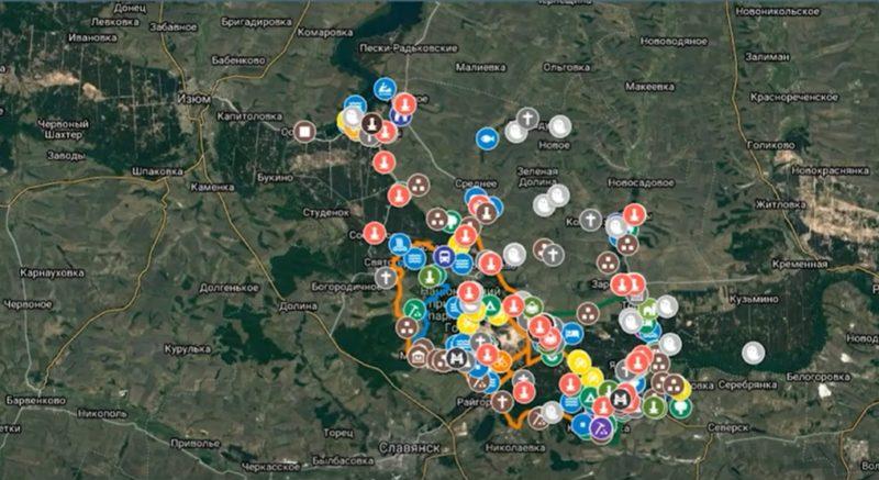 Туристична Лиманщина на інтерактивній мапі