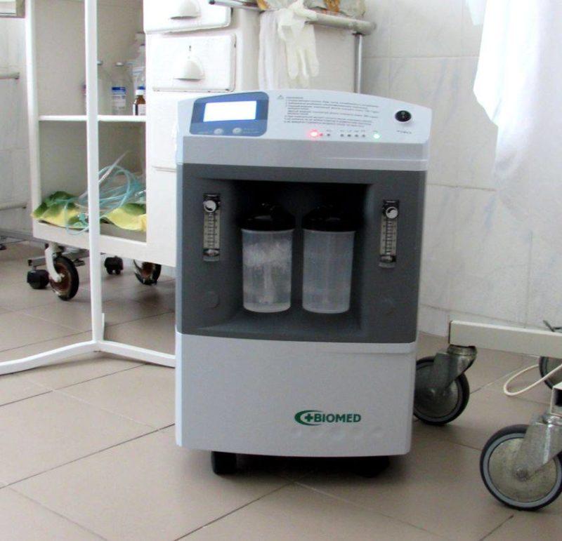 Медзаклади Луганщини отримали обладнання для виявлення та лікування коронавірусу