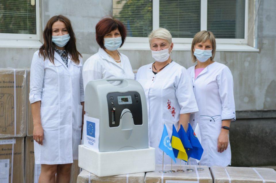 Медзаклади Луганщини отримали обладнання для виявлення та лікування коронавірусу - Фото №1
