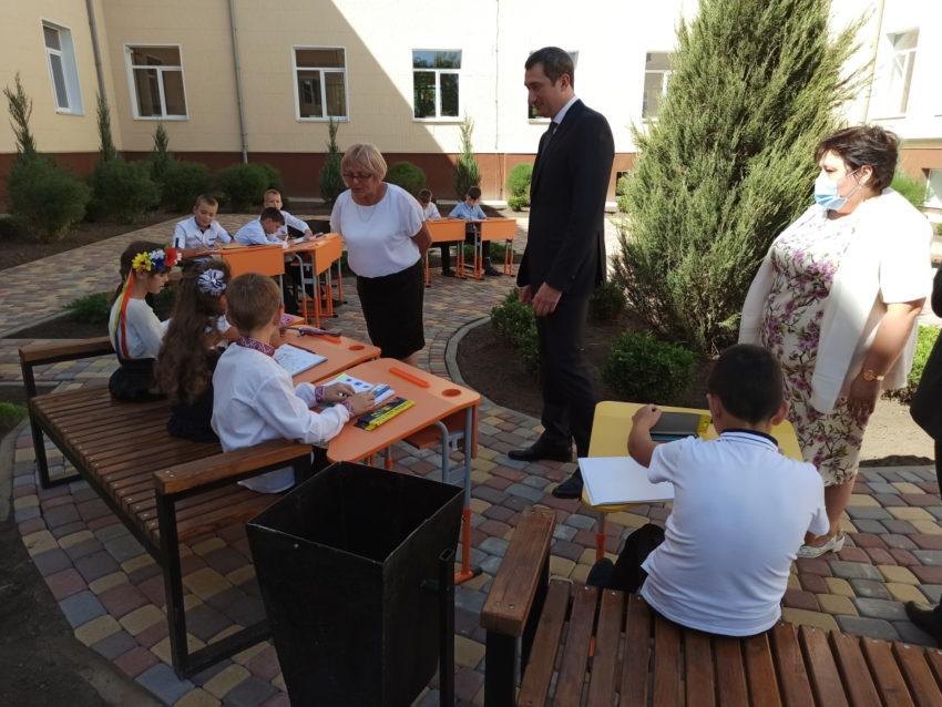В Донецькій області 5 опорних шкіл відремонтовано до нового навчального року