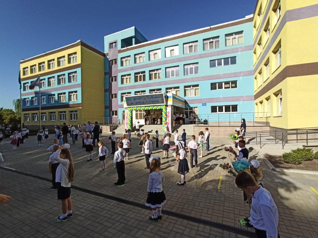 В Донецькій області 5 опорних шкіл відремонтовано до нового навчального року - Фото №1
