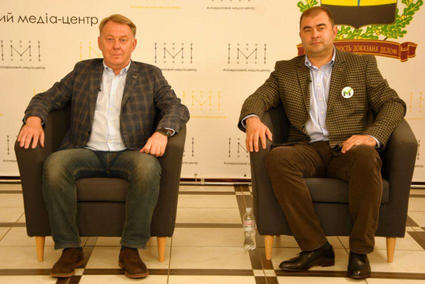 Кандидати в Краматорську міськраду від партій «Наш Край» та «За Майбутнє» презентували свої програми - Фото №1