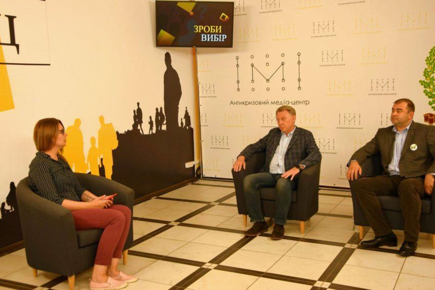 Кандидати в Краматорську міськраду від партій «Наш Край» та «За Майбутнє» презентували свої програми