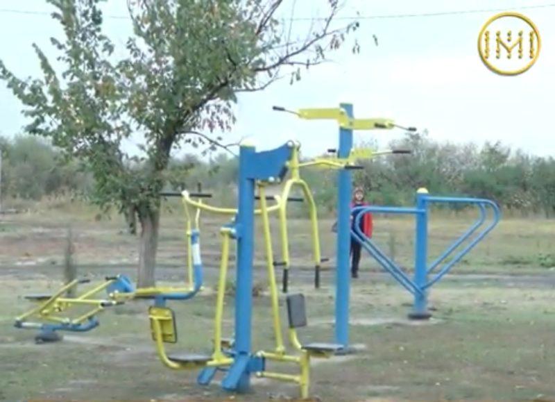 Два дитячих майданчики планують встановити у селах Криворізької ОТГ