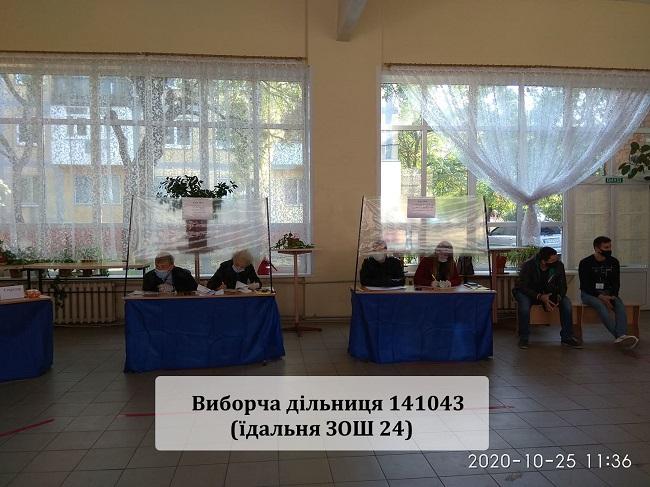 Краматорськ голосує, у першій половині дня людей на дільницях було небагато - Фото №2