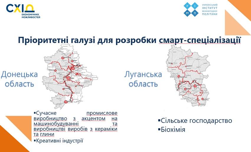 Донеччина та Луганщина шукають нестандартні напрямки економічного розвитку - Фото №1