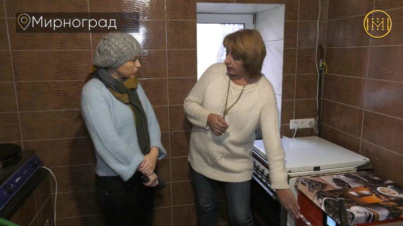 Домашніми варениками, голубцями та пиріжками годують у лікарні Мирнограда