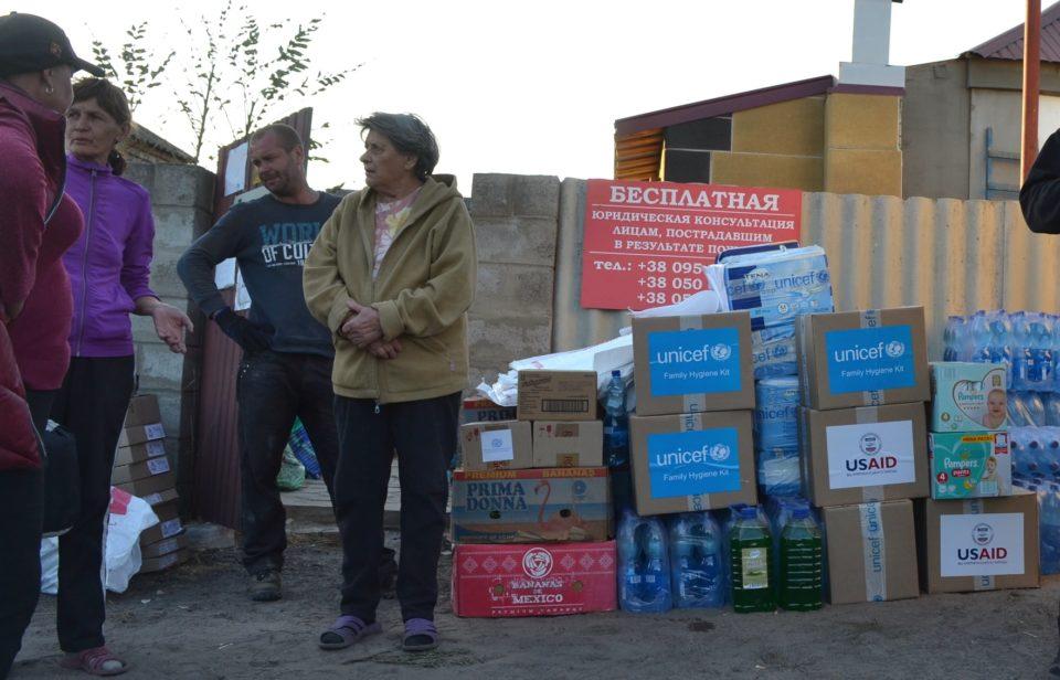 Допомога від Дитячого фонду ООН доставляється