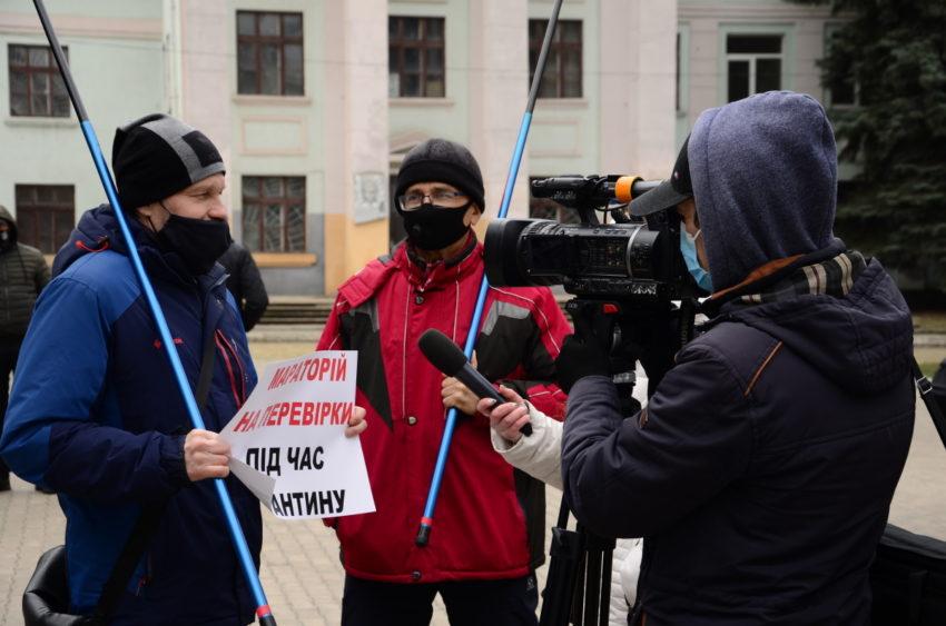 У Краматорську протестували ФОПи - Фото №6